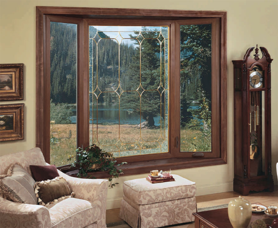 Bay and Bow Windows by Alside Installed in Michigan By Thermal Shield Windows in Waterford MI
