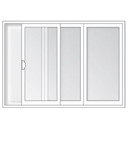 End-Vent Sliding Windows