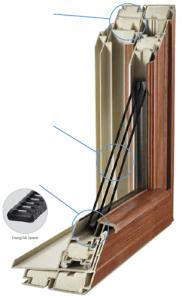 Comfort Smart Windows Fusion-Welded Frames