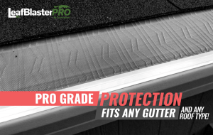 leaf blaster pro gutter guards